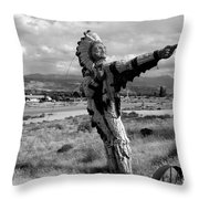 Spanish Valley Indian Throw Pillow