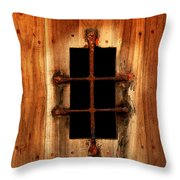 Spanish Window Detail Throw Pillow