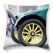 Spare Tire Throw Pillow