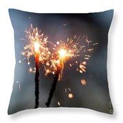Sparkler Throw Pillow