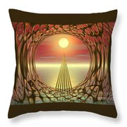 Sparkles Of Light Throw Pillow