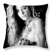 Sparkling Beauty Throw Pillow