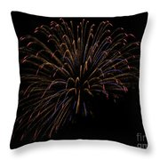 Sparkling Colors Throw Pillow