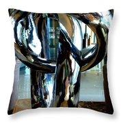 Sparkling Hill Resort 5 Throw Pillow