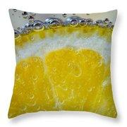 Sparkling Lemonade 2 Throw Pillow