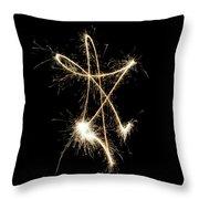 Sparkling Star II Throw Pillow
