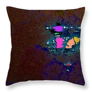 Sparkling Sunrise Throw Pillow