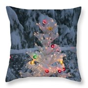 Sparkly Tree Throw Pillow