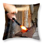 Sparks A Flyin' Throw Pillow