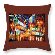 Sparks Of Freedom Throw Pillow