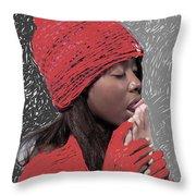 Sparsha Upasana Throw Pillow