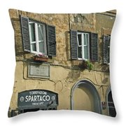 Spartaco Throw Pillow
