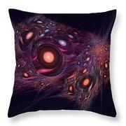 Spatial Rift Throw Pillow
