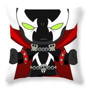 Spawn Supervillain Throw Pillow