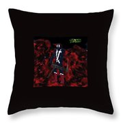 Spawn With 6 Barrel Throw Pillow