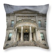 Speaker Matthew J. Ryan Building Throw Pillow