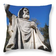 Speaking To God Throw Pillow