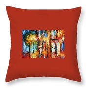 Special Rain Throw Pillow