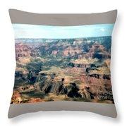 Spectacular Grand Canyon  Throw Pillow