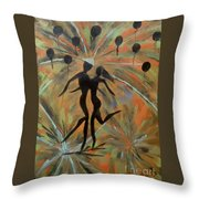 Spectacular Night Throw Pillow