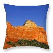 Spectacular Red Rocks - Sedona Az Throw Pillow