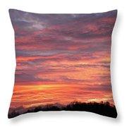 Spectacular Sky Throw Pillow
