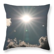 Spectacular Sun Throw Pillow