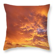 Spectacular Sunrise Throw Pillow