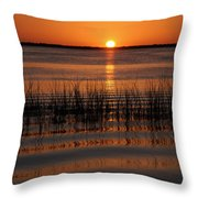 Spectacular Sunset Throw Pillow