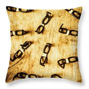 Spectating A Geeky Visual Throw Pillow