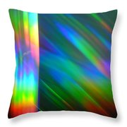 Spectral Curtain Throw Pillow
