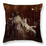 Spectrum Appearance Of Banquo Throw Pillow