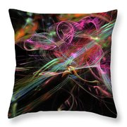 Speed. Throw Pillow