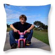 Speed Racer Throw Pillow