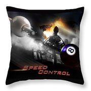 Speedcontrol Throw Pillow