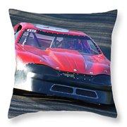 Speeding Thru Throw Pillow