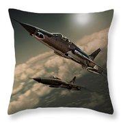 Speeding Thuds Throw Pillow
