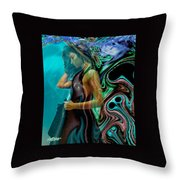 Spell Of A Woman Throw Pillow