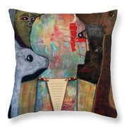 Spell Yourself Well Throw Pillow