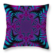 Spellbound - Abstract Art Throw Pillow