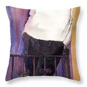 Spenser 01 Throw Pillow
