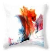 Spessartite Dragon Throw Pillow