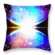 Sphere Circuit Board  Throw Pillow