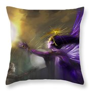 Sphere Makers Of Emergging Consciousness Throw Pillow