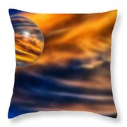 Sphere Of Influence Throw Pillow