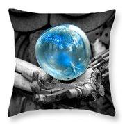 Sphere Of Interest Throw Pillow