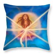 Sphere Of Llight  Throw Pillow
