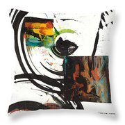 Sphere Painting Series 72.041811 Throw Pillow