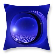 Spheres, No. 4 Throw Pillow