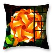 Spheres Of Light Electrified Throw Pillow